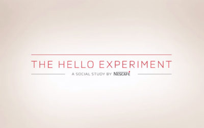 Nescafé the Hello experiment