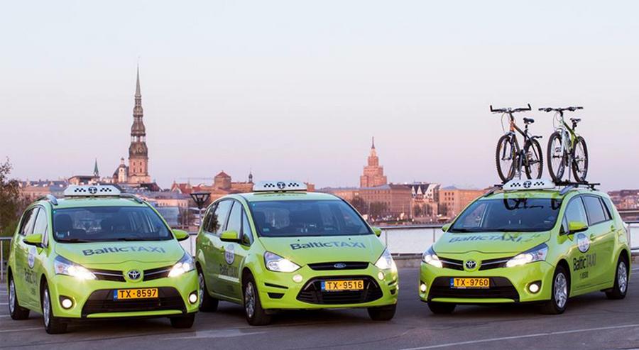 En Lettonie, des taxis solidaires des cyclistes