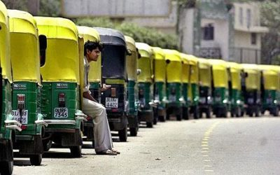 Mgaadi le uber du rickshaw
