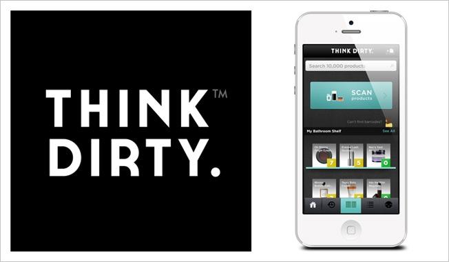 Think Dirty l'application qui mesure la toxicité des cosmétiques
