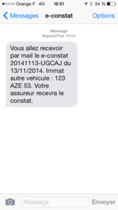 sms confirmation econstat