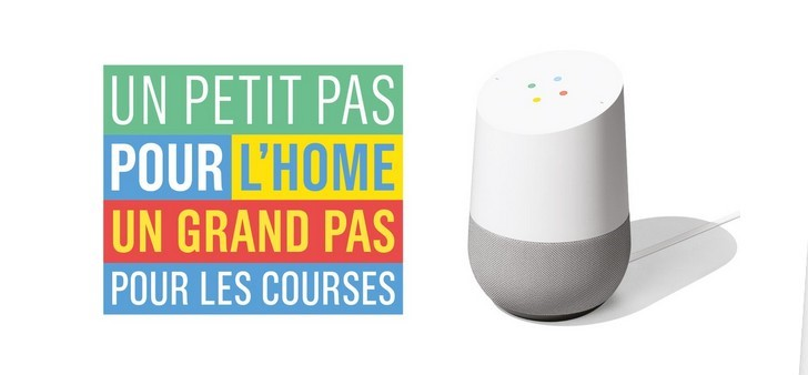 Smart Shopping : quand Google Home remplit votre panier Monoprix